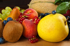 Fruits mix Stock Photo