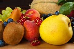 Fruits mix Stock Photo