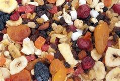 Fruits mix. A mixture of dried fruits Stock Photos