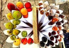 Fruits multi de vitamine photographie stock