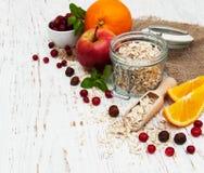 fruits oatmeal Стоковое фото RF