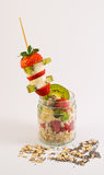 fruits oatmeal Стоковое Изображение RF