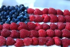 Fruits On Cake Stock Photography