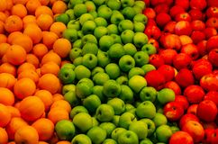 Colors Of The Healthiness & Nourishment. Fruits, the one that gave life health and youth to the living royalty free stock photos