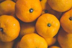 Fruits oranges - utiles pour des milieux Photographie stock