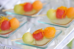 Fruits in party Royalty Free Stock Image