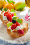 Fruits Pastry Stock Photo