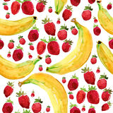 Fruits pattern Stock Photos