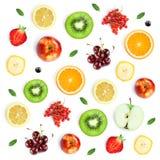 Fruits  pattern Stock Photography