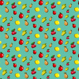Fruits Pattern Royalty Free Stock Images