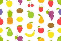 fruits pattern seamless Бесплатная Иллюстрация