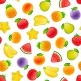 fruits pattern seamless 库存照片
