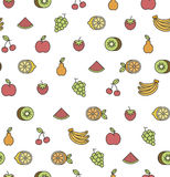 Fruits pattern stock illustration