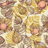 Fruits pattern Stock Photography