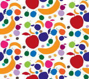 Fruits pattern. Royalty Free Stock Photos