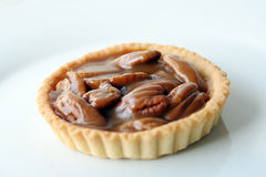 Fruits and pecan tart royalty free stock image