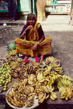 Fruits peddler darjeeling sikkim india Stock Photography