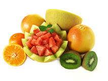 Fruits pile Stock Image