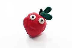 Fruits from plasticine. Royalty Free Stock Images