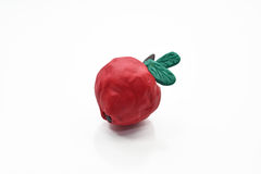 Fruits from plasticine. Royalty Free Stock Photo