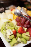 Fruits on plate Stock Photography