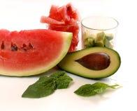Fruits pour la salade fraîche Image libre de droits