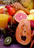 Fruits pour le jus Photo libre de droits