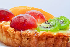 Fruits pudding Royalty Free Stock Photography