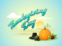 Fruits and pumpkin for Thanksgiving Day celebration. Royalty Free Stock Photography