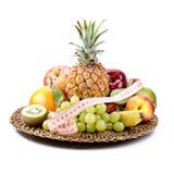 Fruits - régime sain Image libre de droits