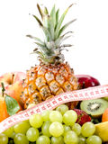 Fruits - régime sain Images libres de droits