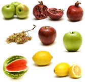Fruits réglés Photographie stock libre de droits
