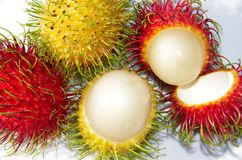 fruits rambutan Стоковое Фото