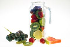 Fruits refreshing stock photography