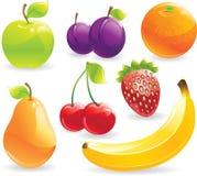 Fruits réglés Photographie stock