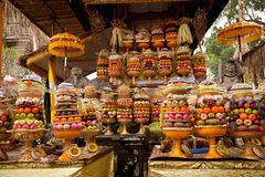Fruits of Sacrifice. On Bali royalty free stock photography