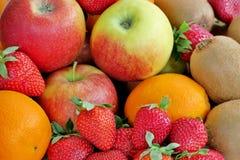 Fruits sains juteux mûrs de différentes couleurs image libre de droits