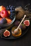 Fruits saisonniers d'automne Photos libres de droits