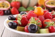 Fruits salad royalty free stock photography