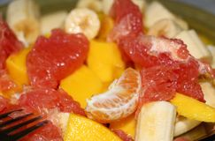 Fruits salad Stock Images