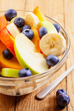 Fruits salad with blueberry Royalty Free Stock Photos