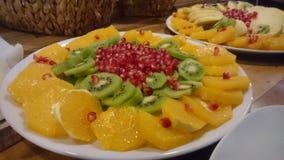 Fruits salade stock photo