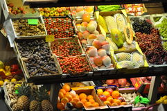 Fruits for sale Royalty Free Stock Photography