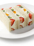 Fruits sandwich Stock Photo