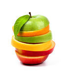 Fruits sandwich Stock Photography