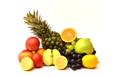 Fruits savoureux Aliment biologique Fruits normaux Photo libre de droits