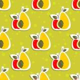 Fruits seamless pattern Royalty Free Stock Photos