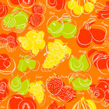 Fruits seamless Stock Photo