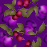 Fruits seamless pattern design texture background Stock Image