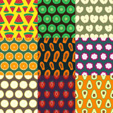 Fruits seamless pattern series 2 Royalty Free Stock Photo